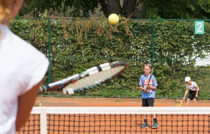 Dětské tenisové dopoledne 2017